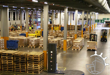Delivery warehouse to warehouse